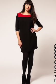 ASOS Collection Asos Curve Shift Dress in Colourblock - Lyst