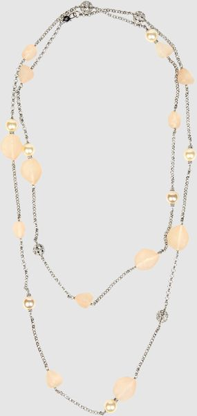 Isaac Mizrahi Necklace in Silver