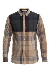 Marc Jacobs Contrast Check Shirt - Lyst