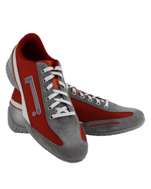 pirelli pzero orange sneakers in gray for orange lyst