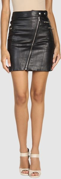 Rebecca Minkoff Leather Skirts - Lyst