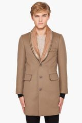 Paul Smith Caramel Top Coat