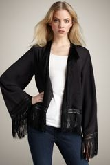 Winter Kate Love Thorn Fringe Jacket - Lyst