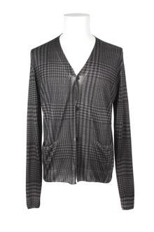 Christopher Kane Long Sleeves Fine and Soft Silk and Cashmere Knit Cardigan - Lyst