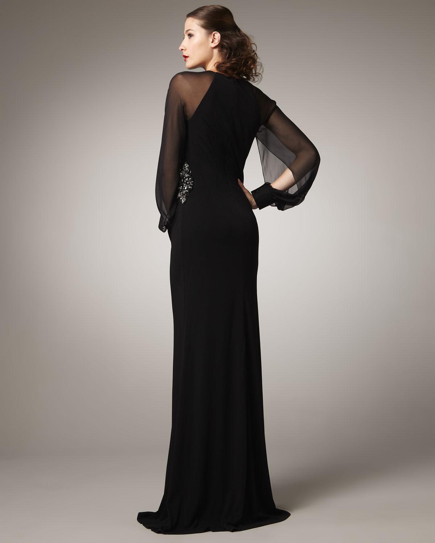 David Meister Long Sleeve Dresses   www.topsimages.com