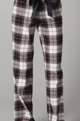 Juicy Couture Plaid Flannel Pants - Lyst