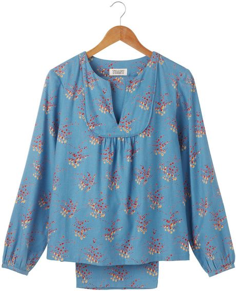 Toast Elsa Pyjamas in Blue (cornflower blue/multi) - Lyst