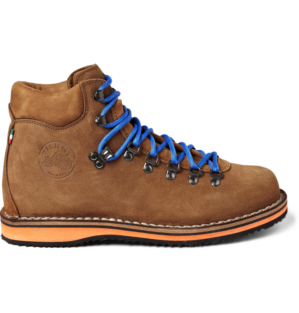 diemme roccia vet suede boots in brown for roccia lyst