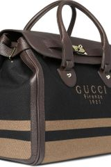 Gucci Anniversary Weekend Bag in Brown for Men - Lyst