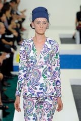 Jil Sander Spring 2012 Multicolor Paisley Print Tailored Jacket - Lyst