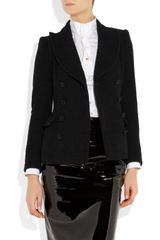 Moschino Woolblend Bouclé Jacket in Black - Lyst