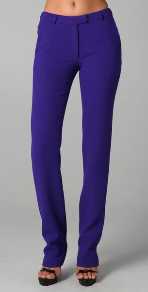 Preen Razor Pants in Purple (violet) - Lyst
