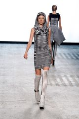 Gareth Pugh Spring 2012 Cage Over-the-knee Boots