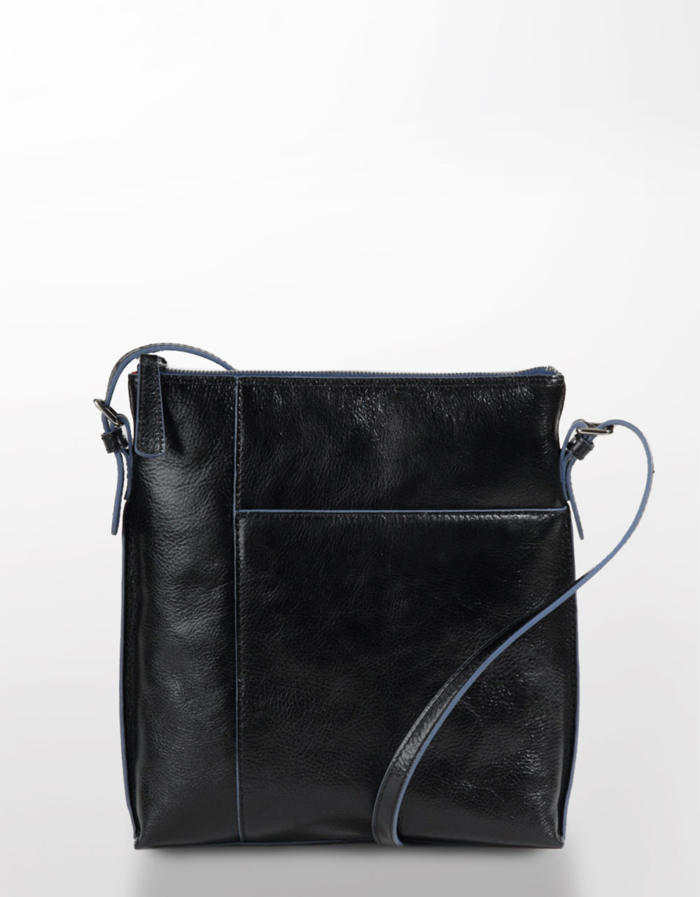 Hobo International Alessa Leather Cross-Body Bag in Black ...
