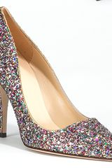 Kate Spade Licorice Too - Multi-colored Glitter Pump