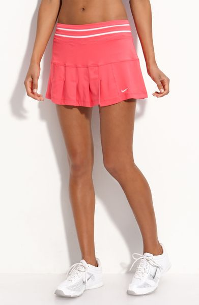 Nike Smash Pleated Tennis Skirt in Pink (aster pink) | Lyst