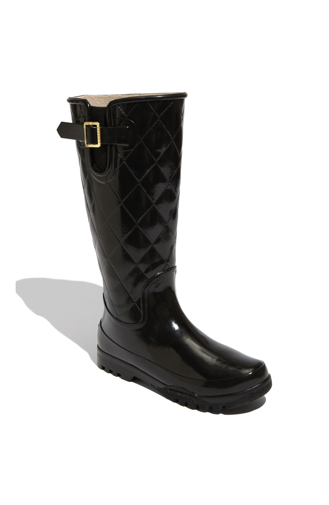 Sperry Top Sider Pelican Tall Rain Boot In Black Black
