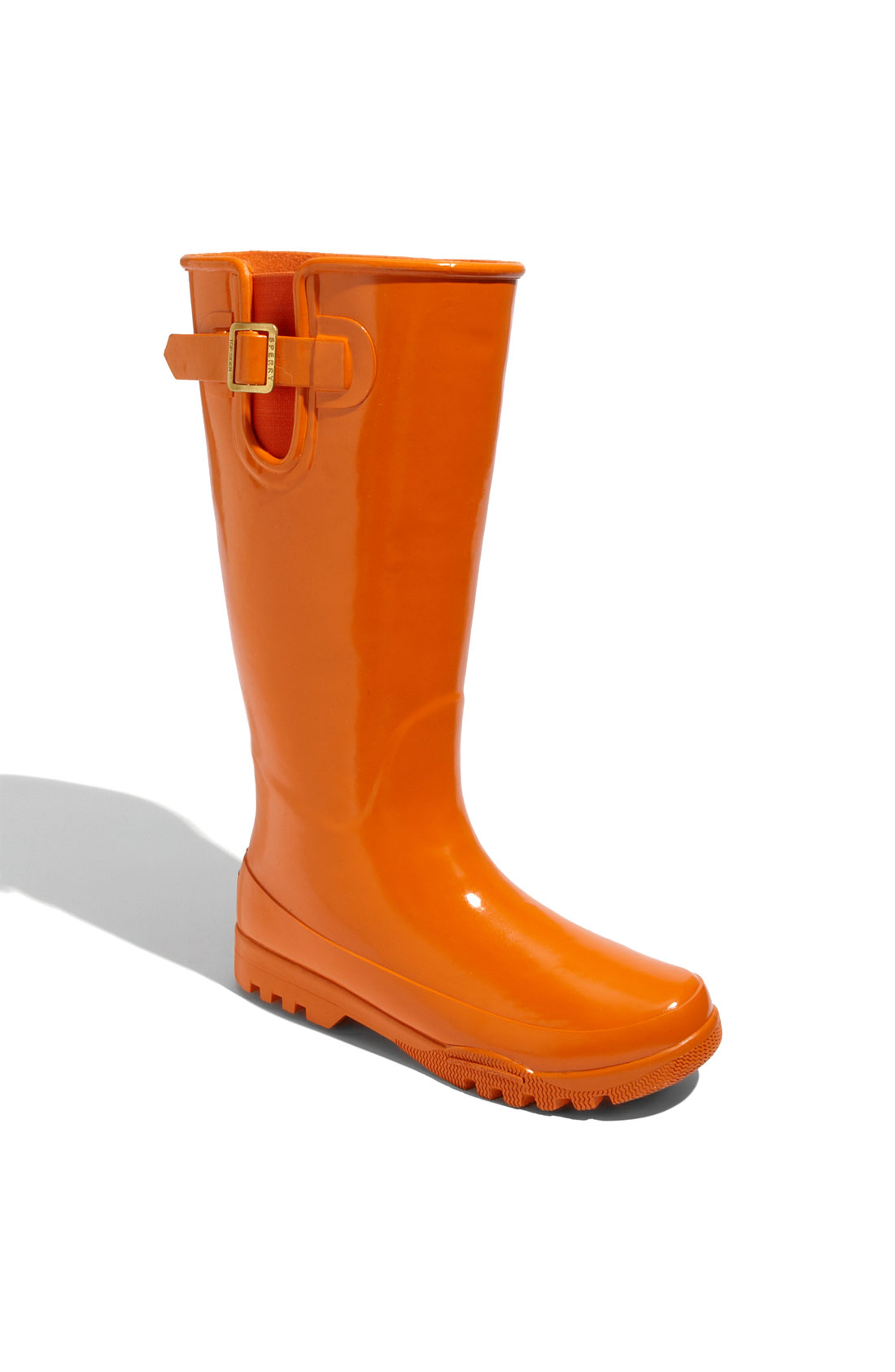 Sperry Top Sider Pelican Tall Rain Boot Women In Orange