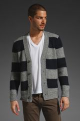 Closed Striped Cardigan - Lyst