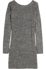 Sandro Radieuse Wool-blend Dress - Lyst