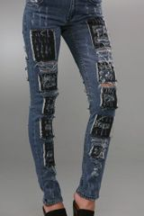 Cheap Monday Tight High Waist Skinny Jeans - Lyst