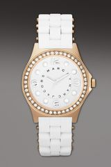 Marc By Marc Jacobs Pelly Watch, White - Lyst