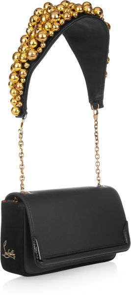 Christian Louboutin Artemis Bell-embellished Shoulder Bag - Lyst