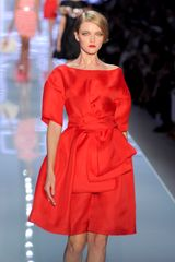 Dior Spring 2012 Red Grace Kelly Tulle Dress with Bow in Red - Lyst