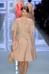 Dior Spring 2012 Grace Kelly Dress with Organza Neckline - Lyst