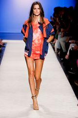 Isabel Marant Spring 2012 Red Tie-Dye Jersey Mini Dress - Lyst