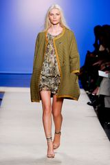 Isabel Marant Spring 2012 Python Print Smocked Mini Dress - Lyst
