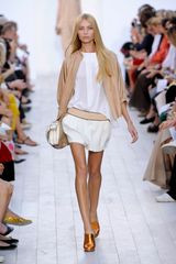 Chloé Spring 2012 Sheer White Blouse - Lyst