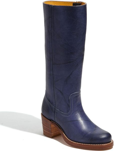 Frye Sabrina Boot in Blue (sapphire) - Lyst