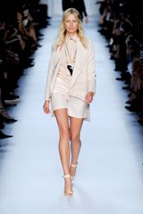 Givenchy Spring 2012 High Waisted Satin Mini Shorts - Lyst