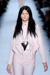 Givenchy Spring 2012 Pink Tailored Jacket With Trimmed Lapels - Lyst