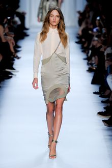 Givenchy Spring 2012 High Heel Sandals In Khaki - Lyst