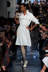 Jean Paul Gaultier Spring 2012 Leather Trenchcoat - Lyst