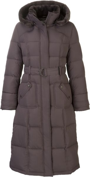John Lewis Women Down Padded Coat Mink In Purple Lyst