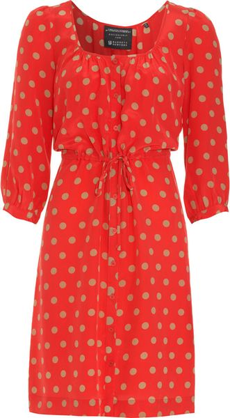 Twelfth Street by Cynthia Vincent Polka Dot Dress - Lyst