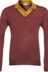 Bottega Veneta Layered Sweater - Lyst