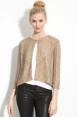 Parker Beaded Tweed Jacket - Lyst