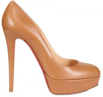 Christian Louboutin 140mm Bianca Kid Pumps - Lyst