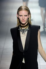 Lanvin Spring 2012 Oversized Eagle Pendant Necklace - Lyst