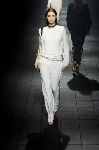 Lanvin Spring 2012 Tapered Trouser - Lyst