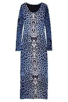 Alice By Temperley Blue Renaissance Animal Print Maxi Dress - Lyst