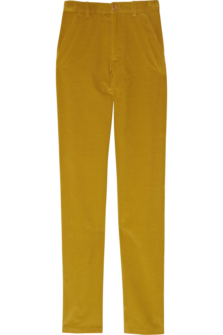 Simple Alythea Situationally Savvy Pants In Mustard In Yellow  Lyst