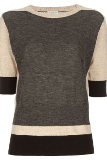 Dries Van Noten Colour Block Sweater - Lyst
