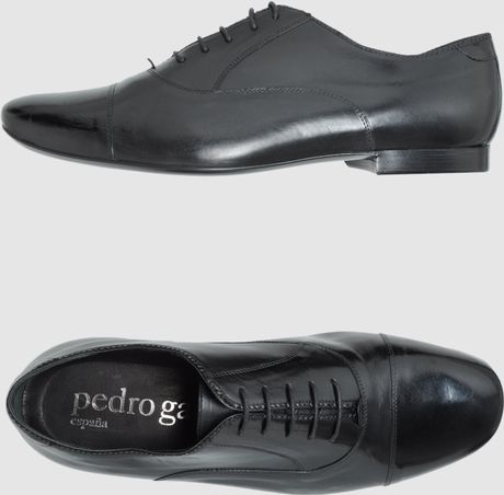 Pedro Garcia Pedro Garc 237 A Laced Shoes In Gray For Men