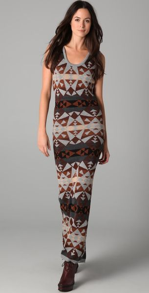 Pendleton For Opening Ceremony Kaleidoscope Pencil Dress - Lyst