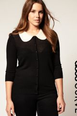 ASOS Collection Asos Curve Cardigan with Cute Collar - Lyst